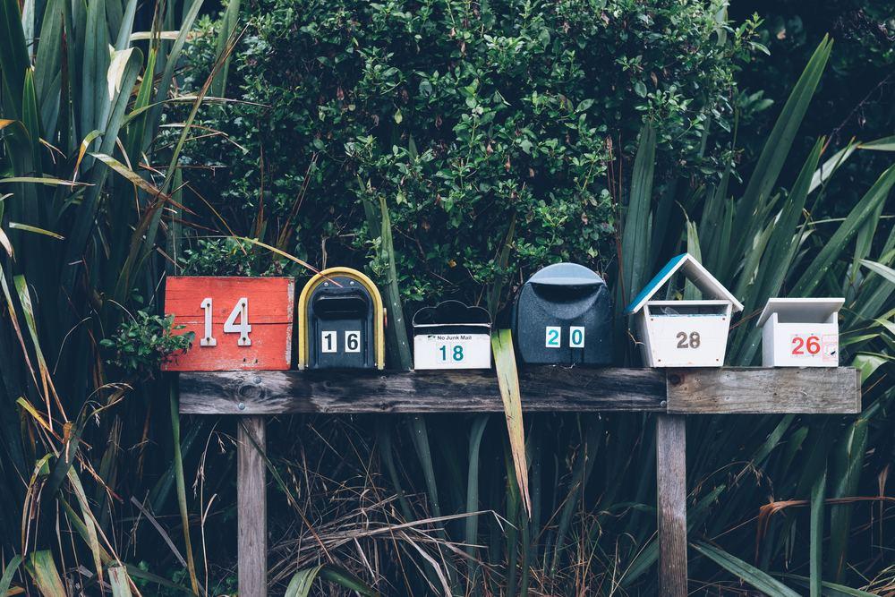 Liva upp med wallstickers till din brevlåda